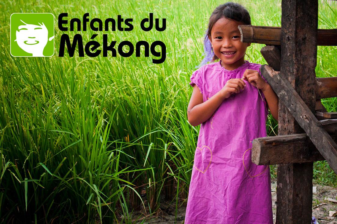 Logo d'Enfants du Mékong